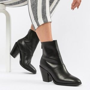 Shoes - ASOS DESIGN Leather Ankle Boots